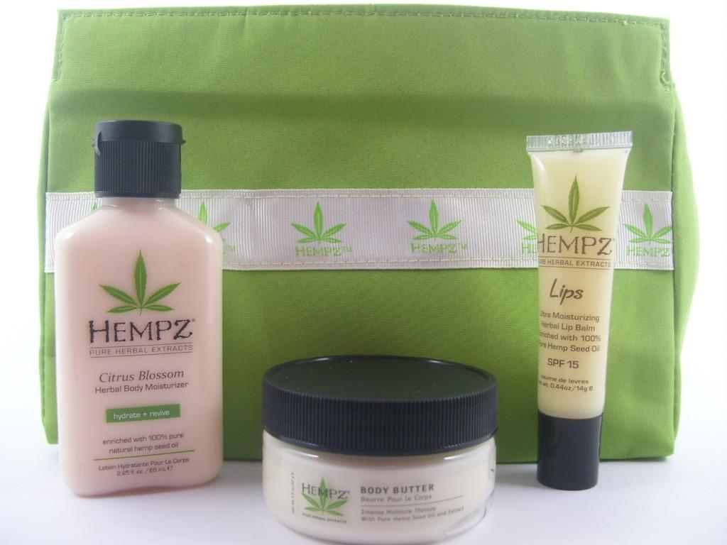 Review:  Hempz Herbal Body Moisturizer, Body Butter, Herbal Lip Balm