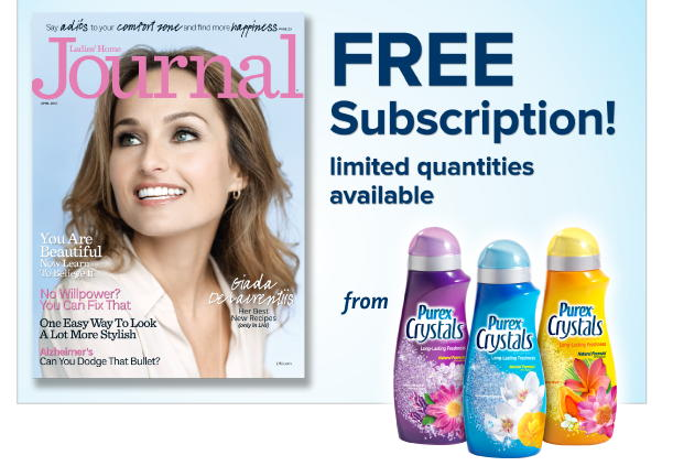 Purex is Giving Away 20,000 Magazine Subscriptions