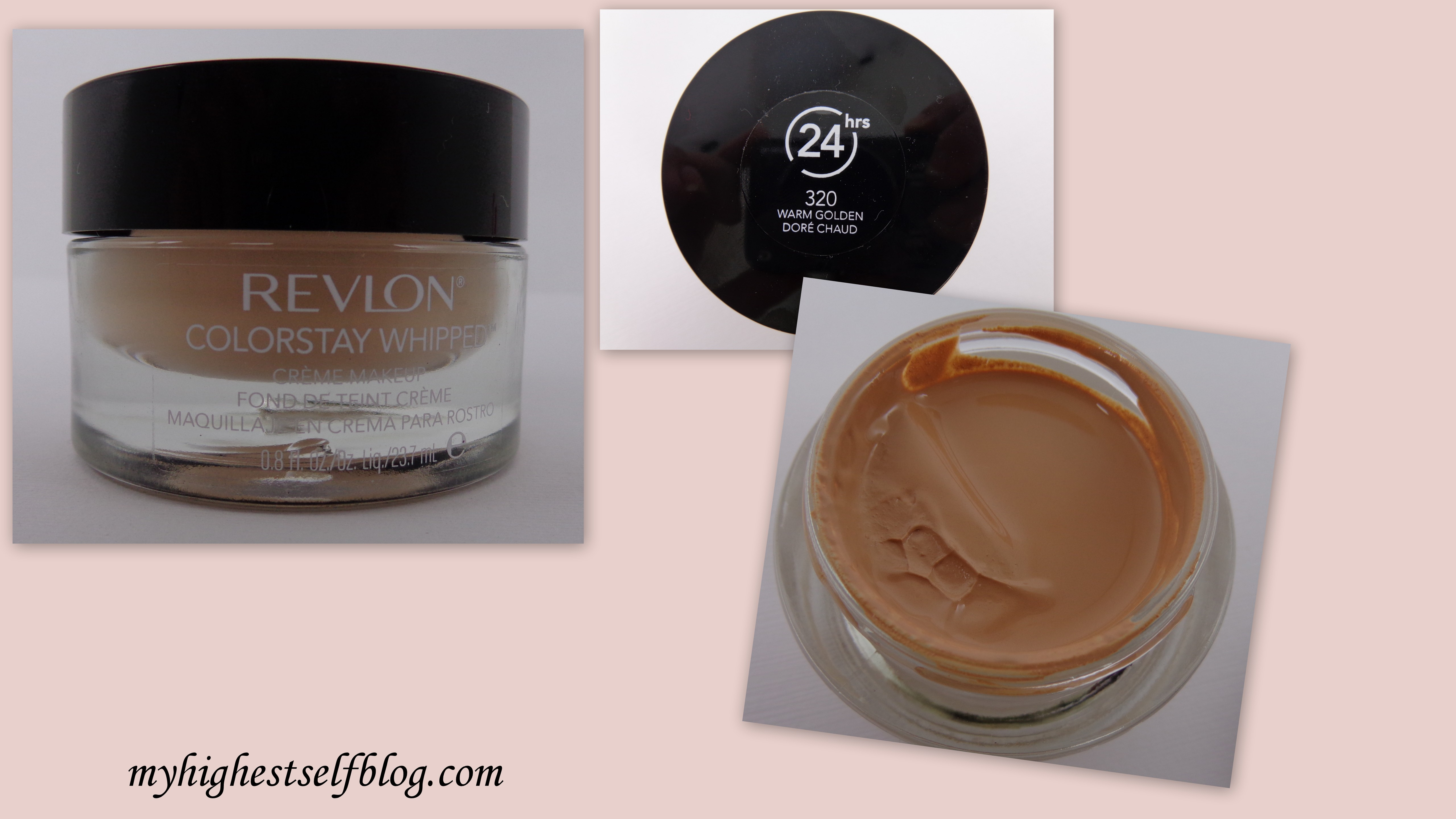 Review: Revlon ColorStay Whipped Creme Makeup - My Highest Self