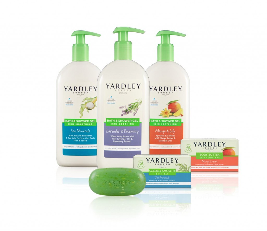 New Drugstore Products:  Yardley Skin Indulgence Bath & Shower Collection