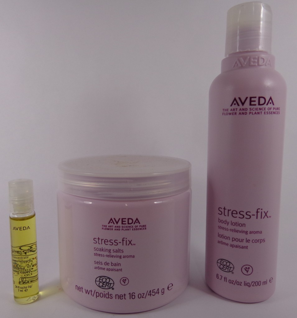 Stress Less with the Stress-Fix Line from Aveda