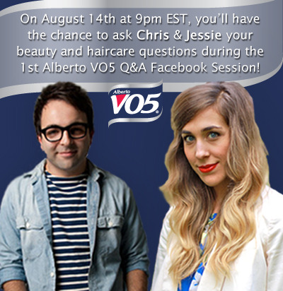 Join Alberto VO5 for a Beauty Q&A