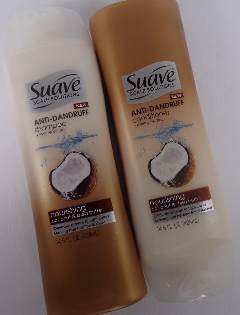 Suave Scalp Solutions Anti-Dandruff Shampoo and Conditioner