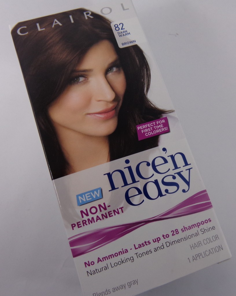 Review:  Clairol Nice 'n Easy Non-Permanent Hair Color #FlirtWithHaircolor