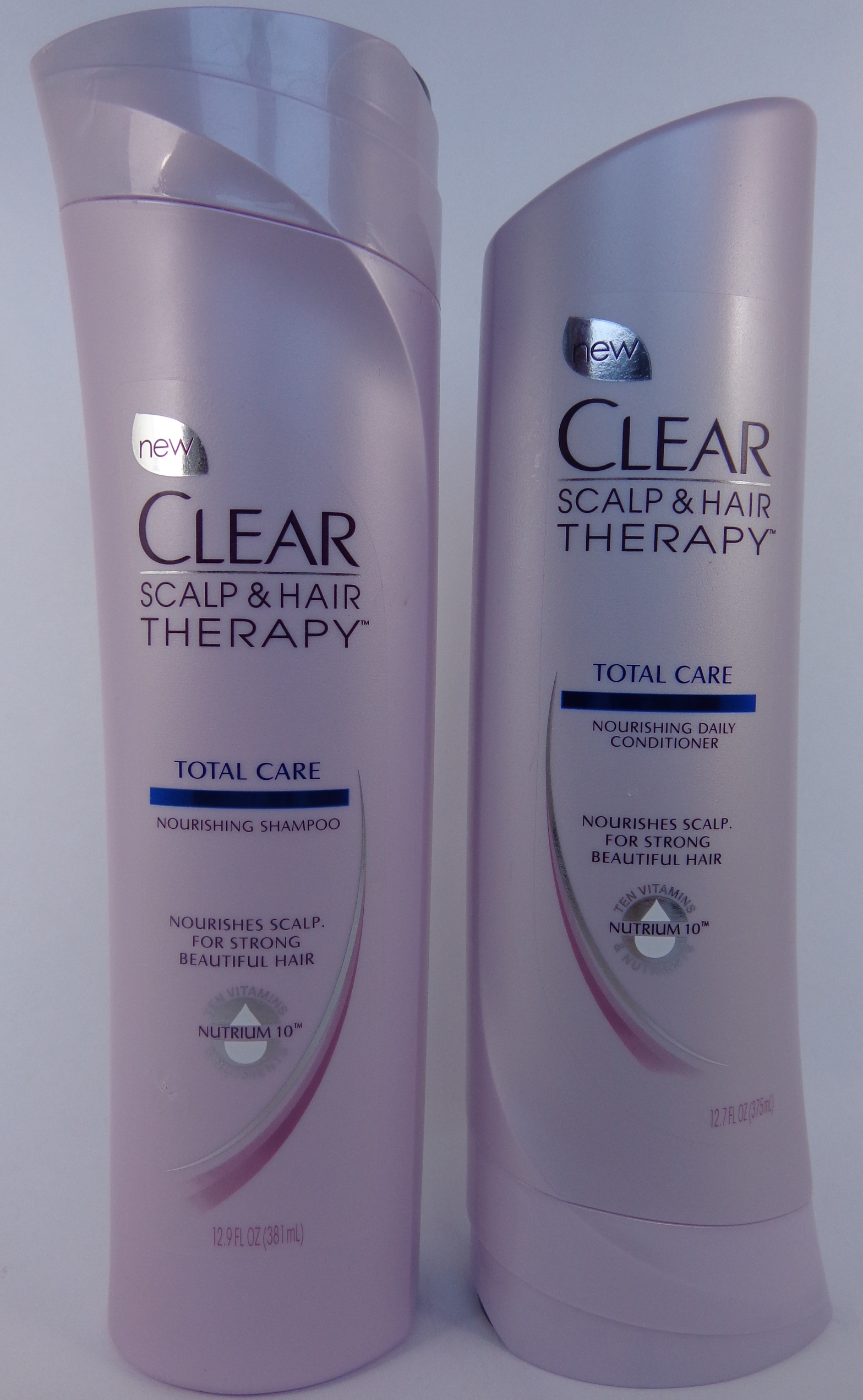 Review  Clear Scalp  U0026 Hair Therapy Total Care Shampoo And Conditioner  Clearhair