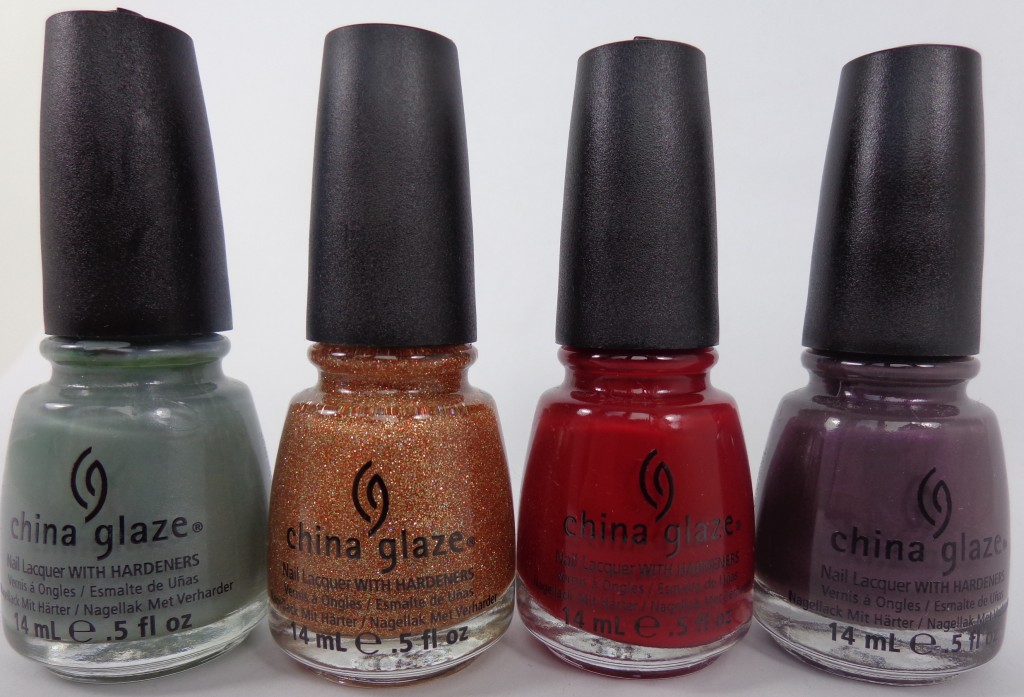 Bringing in Fall with Four Shades from the China Glaze On Safari Collection