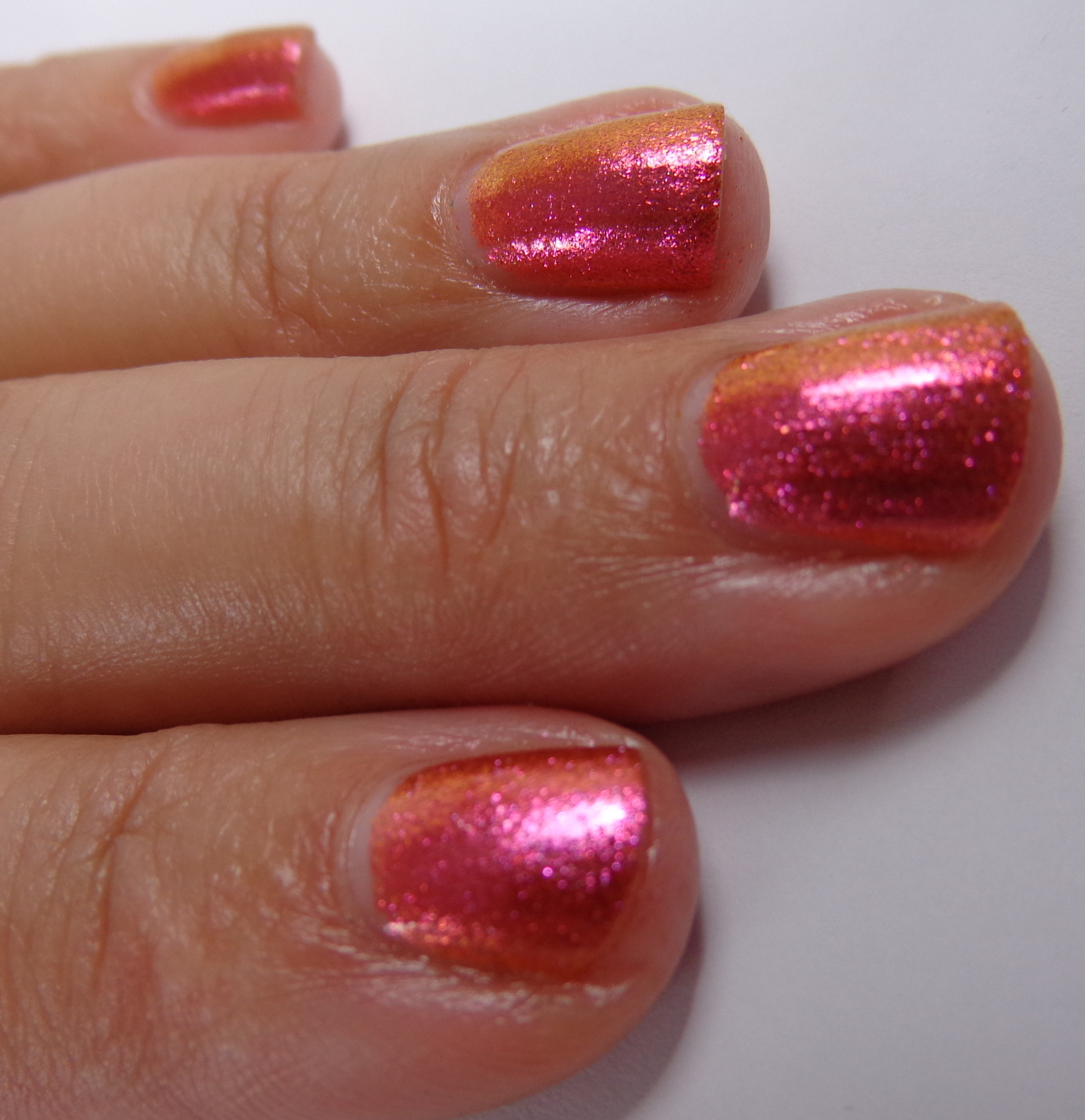 Swatch & Review: New! Sally Hansen Lustre Shine Nail Color - Lava ...