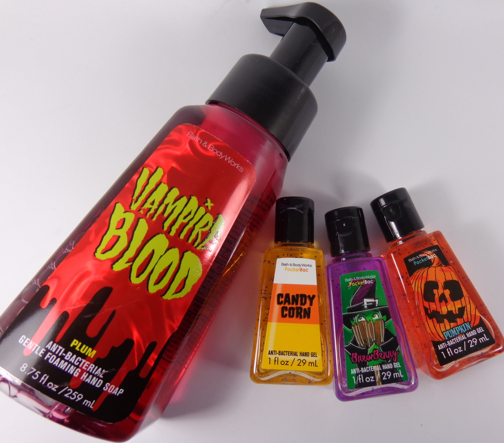 bath body works halloween hand soap pocketbac