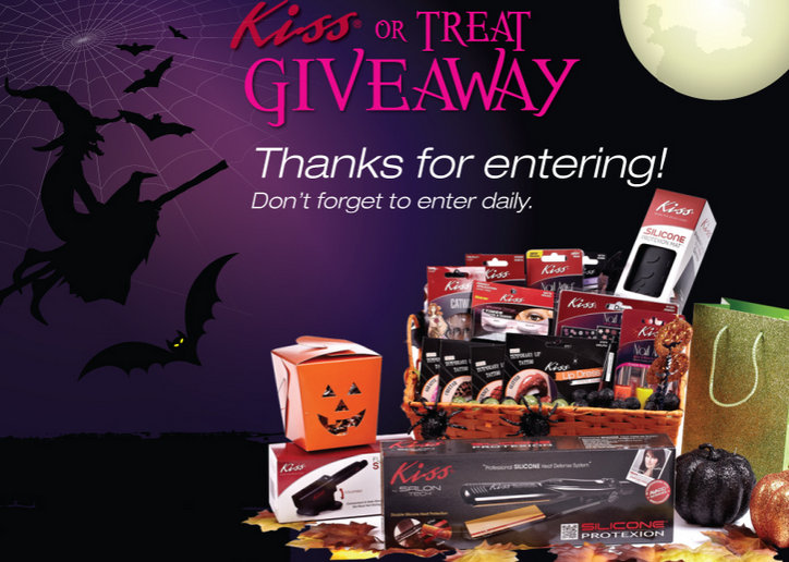 Halloween Beauty Giveaways from Kiss and Broadway Nails