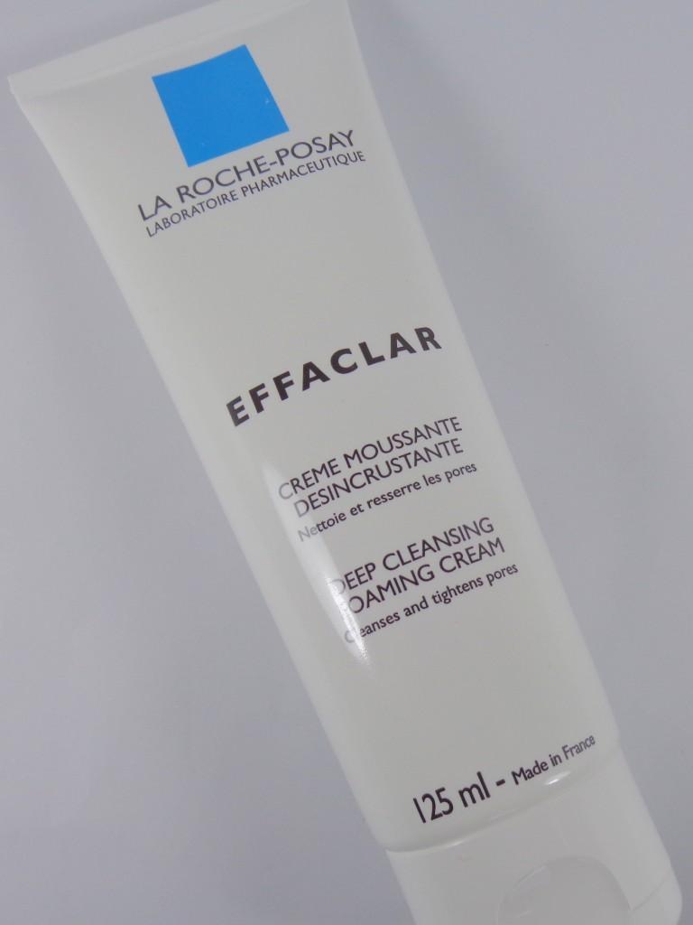 Review: La Roche-Posay Effaclar Deep Cleansing Foaming Cream & Dual Action Acne Treatment