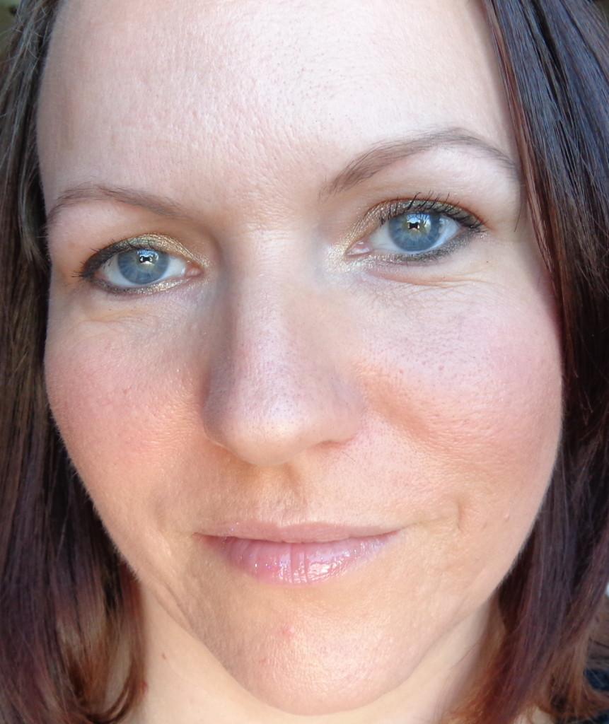 FOTD with VS makeup butter london fairy cake lipgloss