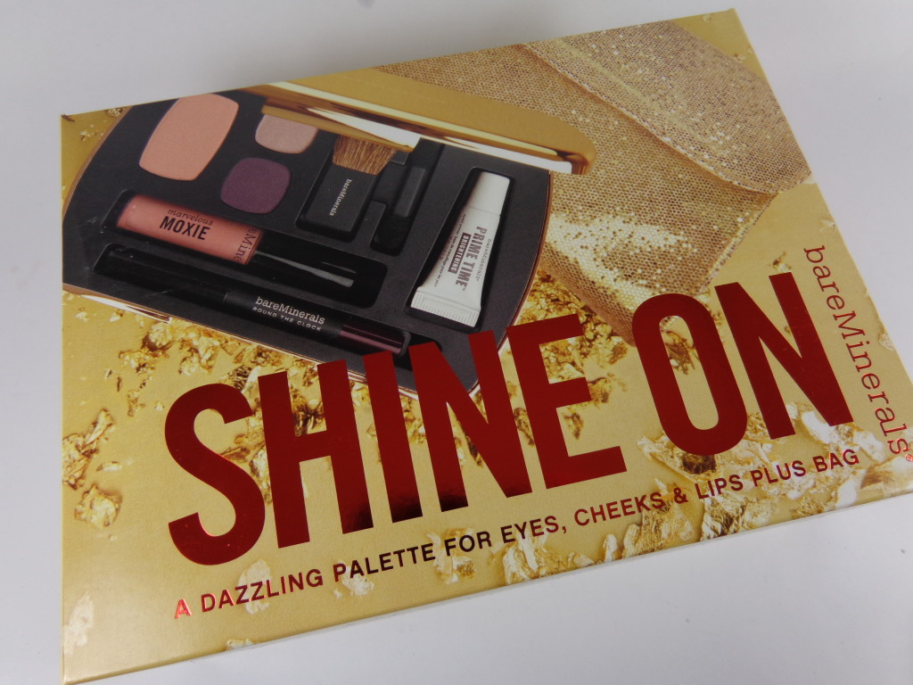 bareMinerals Shine On Palette for Eyes, Cheeks, Lips #HolidayGiftGuide
