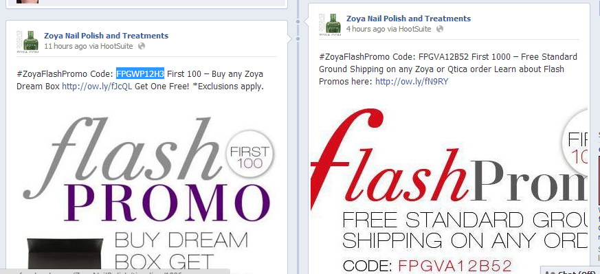 zoya flash promos are back that means freebies my highest self