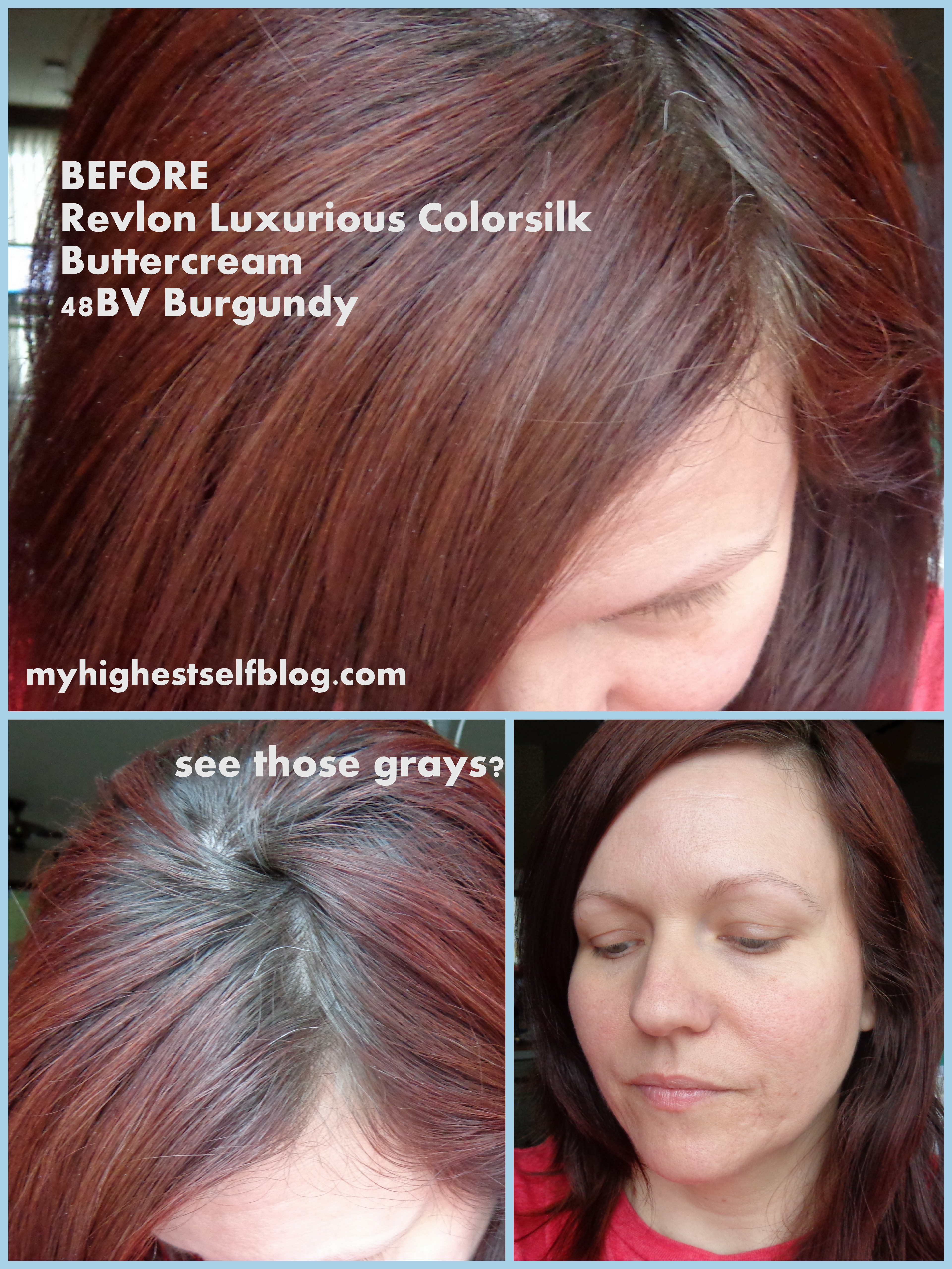 Review With Before And After Photos Revlon Luxurious Colorsilk