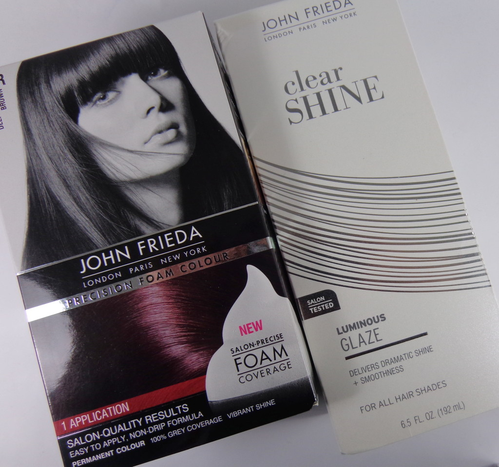 *CLOSED* Giveaway:  John Frieda Precision Foam Colour & Luminous Color Glaze Clear Shine  (2 Winners)