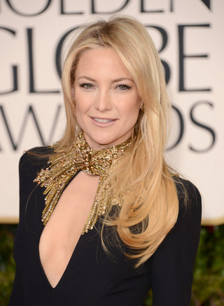 Kate Hudson 2013 Golden Globes Hairstyle