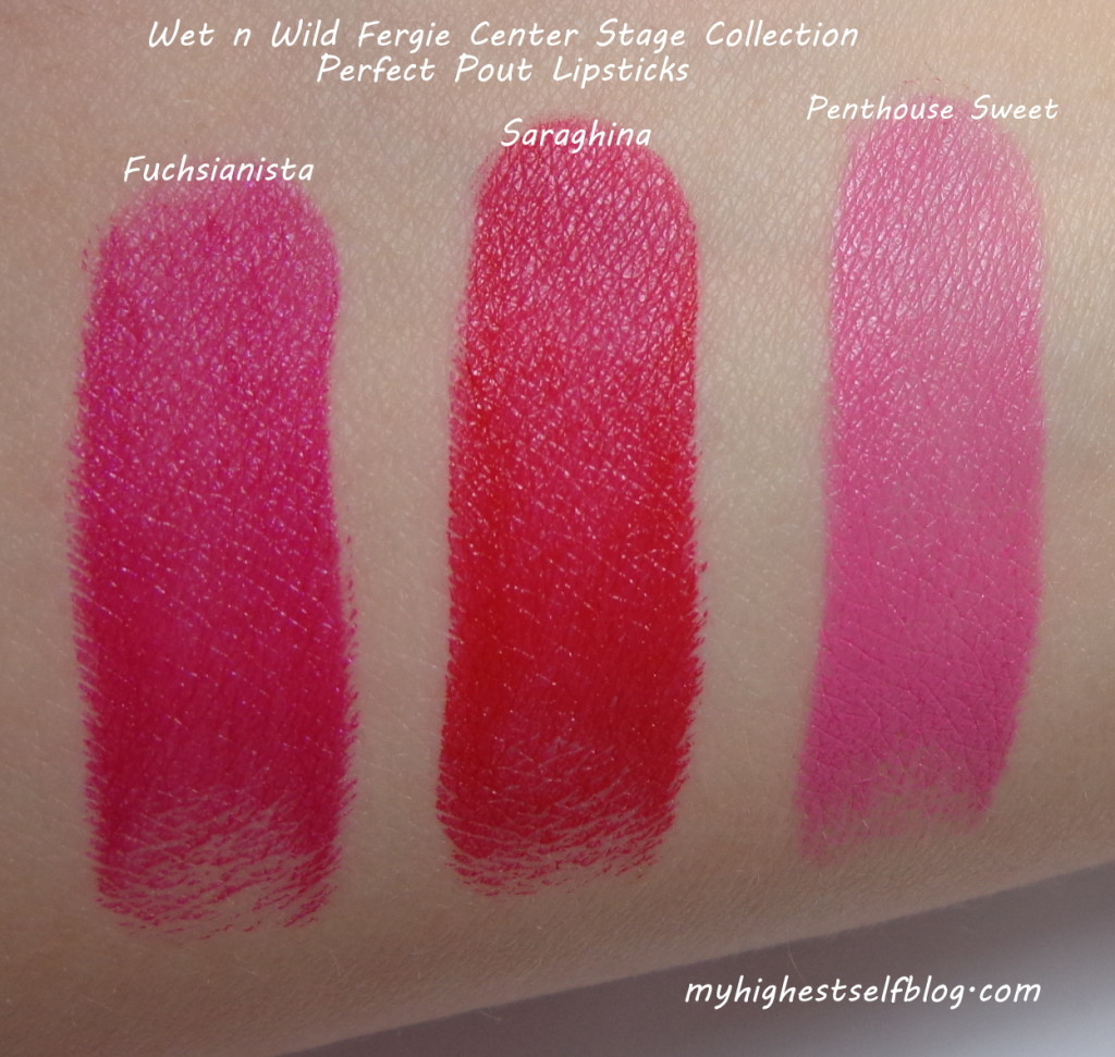 fergie lipstick swatches, wet n wild fergie lipstick