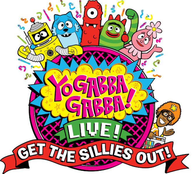 Yo Gabba Gabba! LIVE!: Get The Sillies Out! Tour Comes to the Chicago Area #yogabbagabba