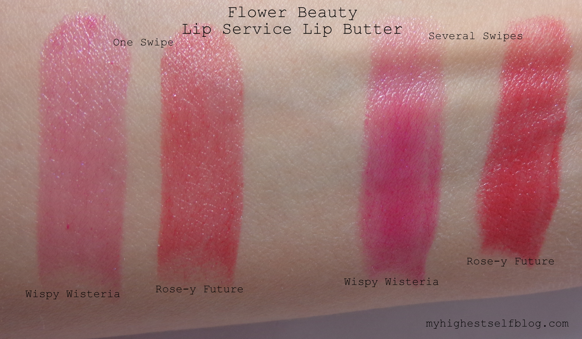 Flower beauty by drew barrymore lip service lip butter wispy flower beauty lipstick swatches review lip service izmirmasajfo