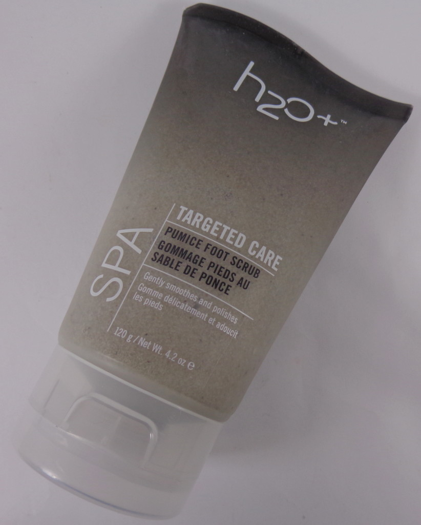 h2o plus foot scrub review