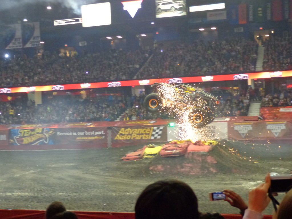 Review and Photos: Advance Auto Parts Monster Jam® at ...