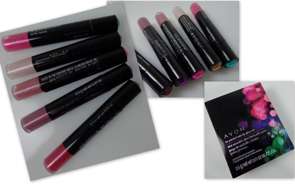 Avon Be Jeweled Mini Lip Gloss Set