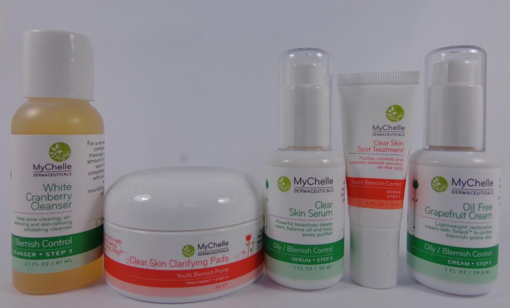 Review:  MyChelle Dermaceuticals Oily/Blemish Control Skincare