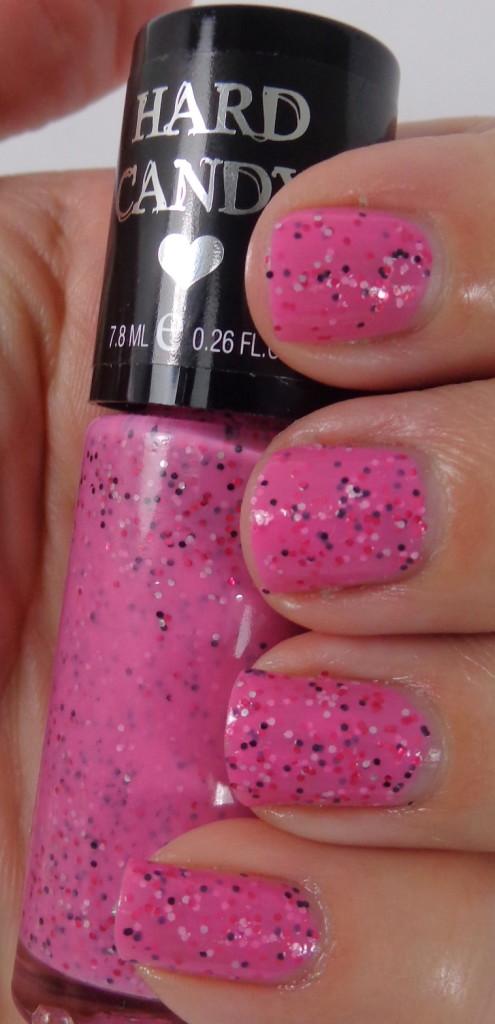 pink taffy nail swatches
