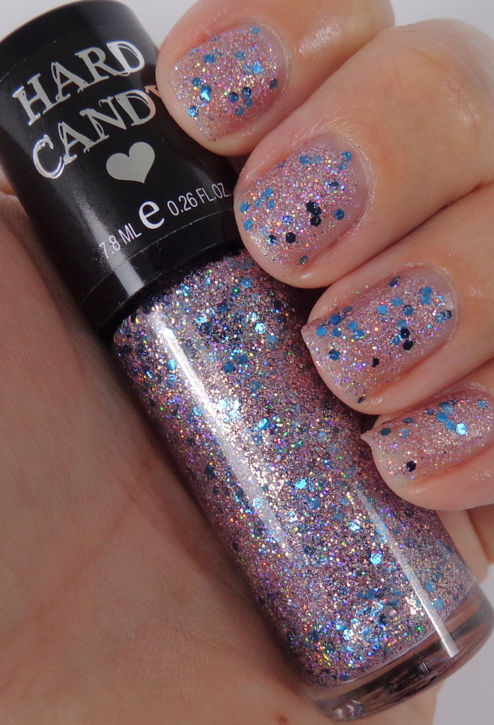 so so sequin nail swatch