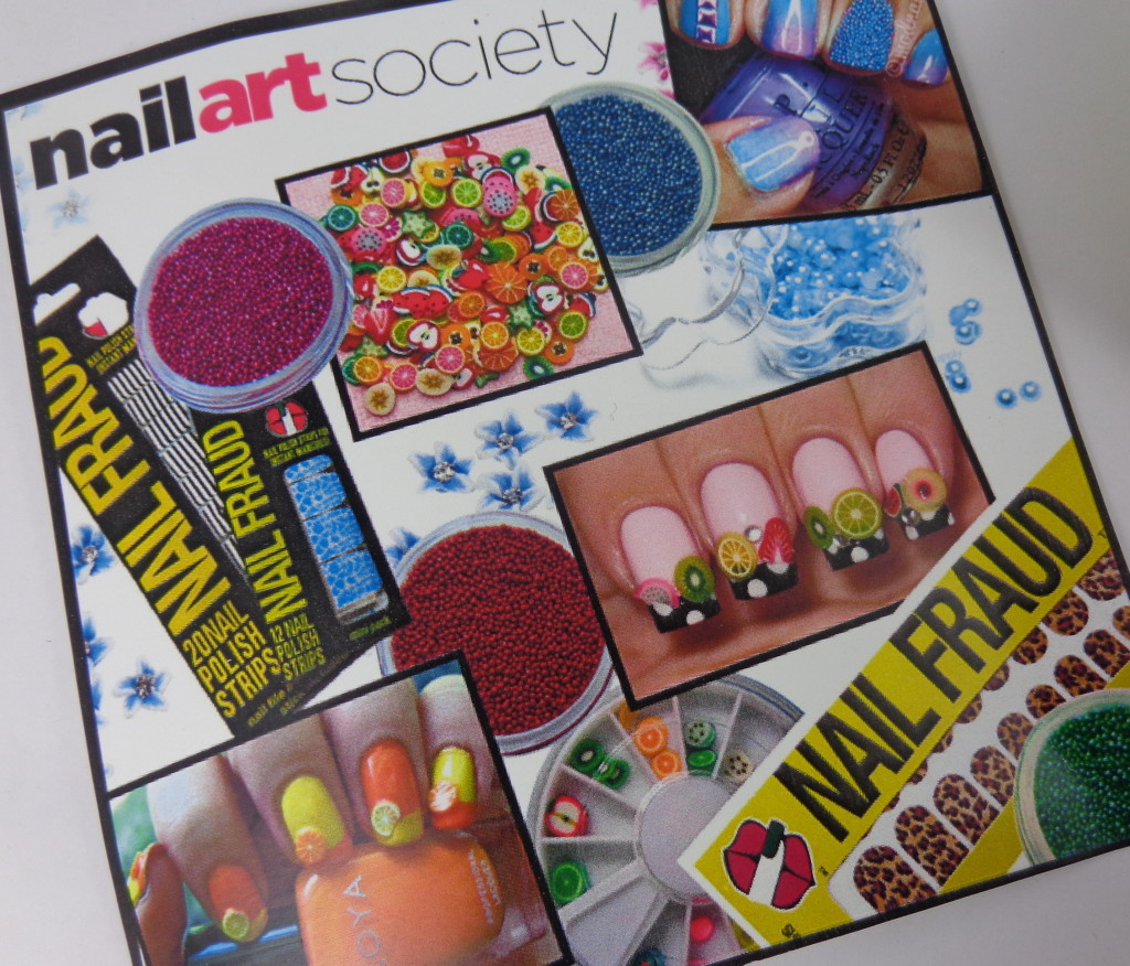 Nail Art Society for March 2013