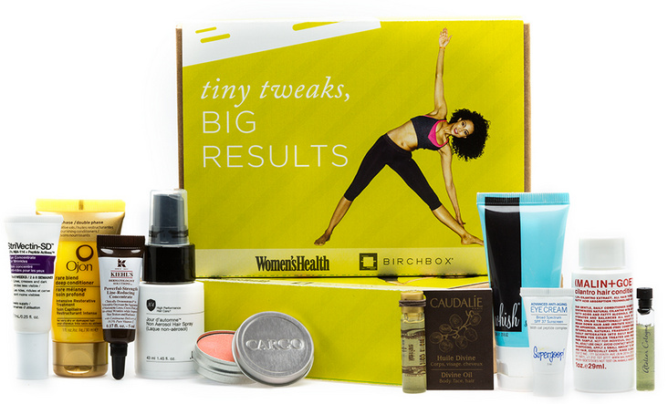 Birchbox + Women's Health for April 2013