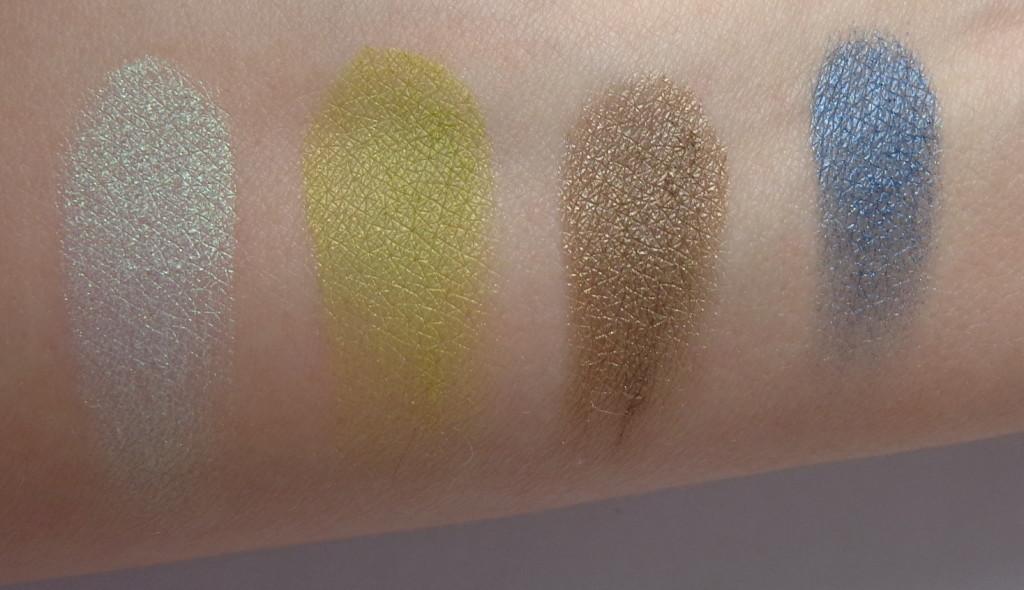 bare minerals remix eyeshadow swatches, wild thing