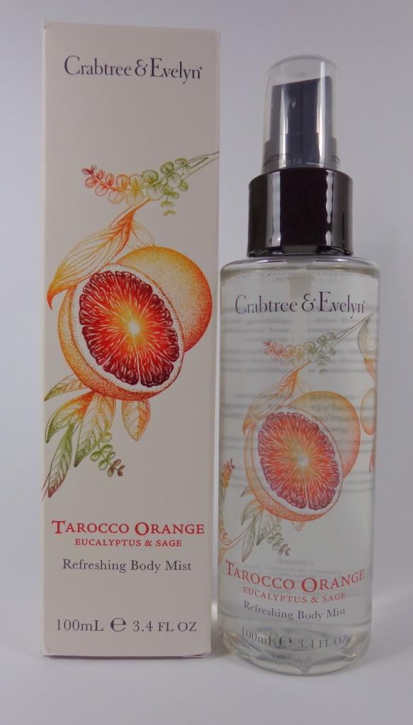 tarocco orange body mist review