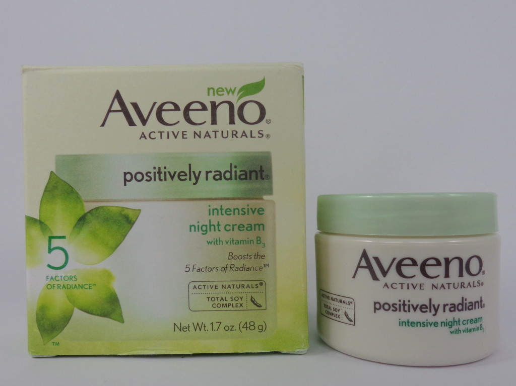 Radiant With Aveeno: Aveeno Intensive Night Cream Review
