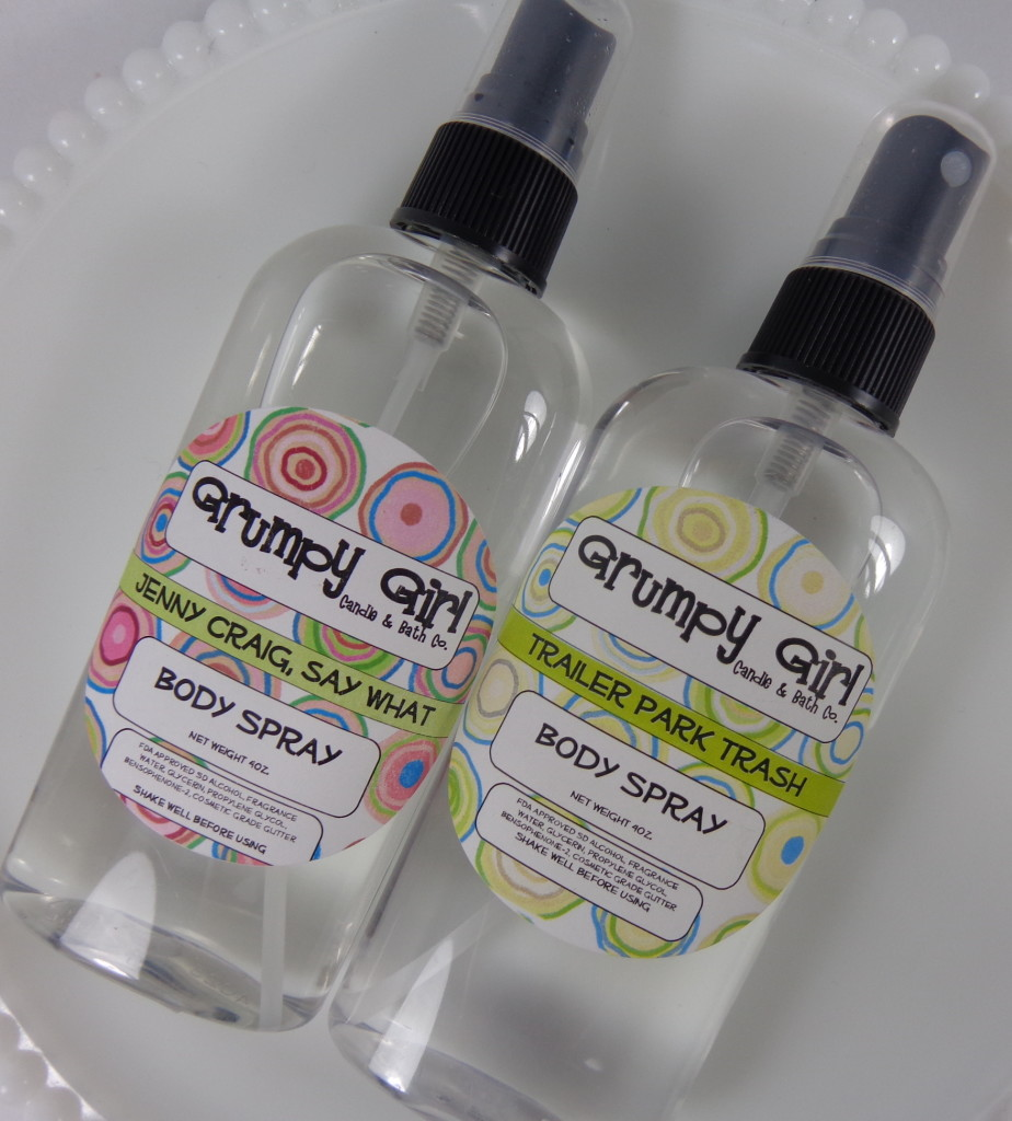 Trailer Park Trash Body Spray from Grumpy Girl Review