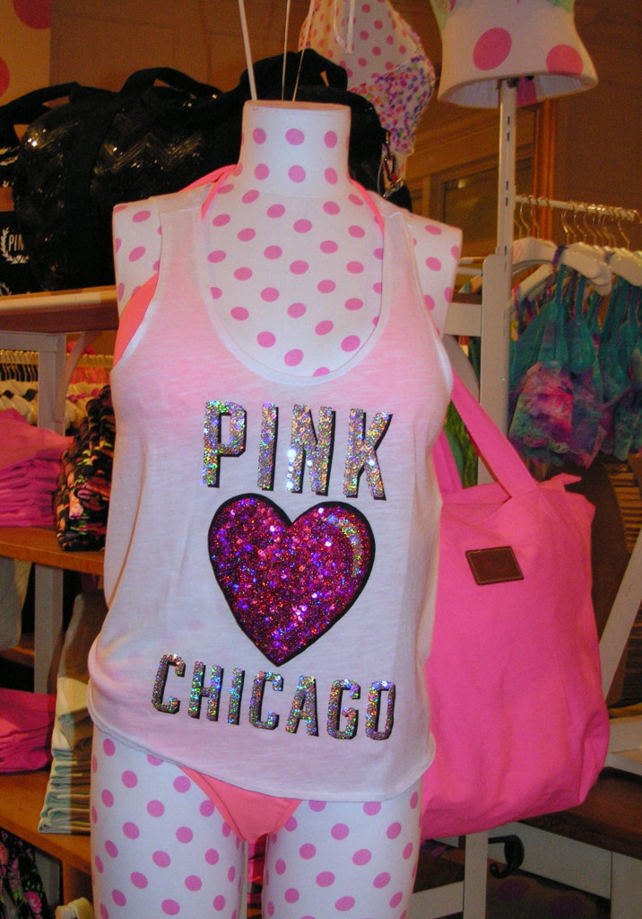 pink chicago collection VS pink