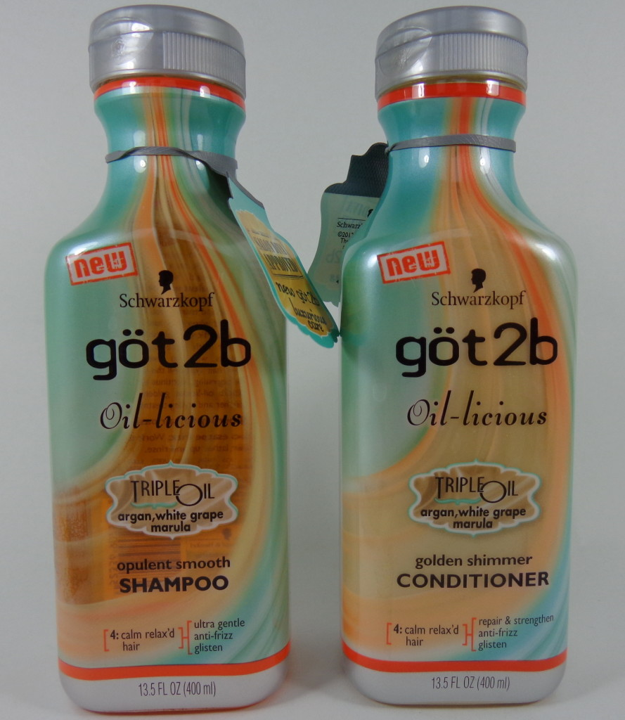 got2b oil licious shampoo conditioner review
