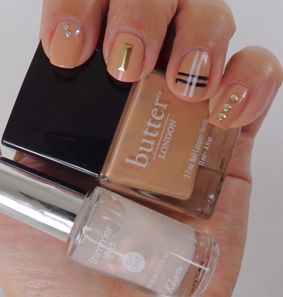 Nail Art with Kiss Products and butter LONDON