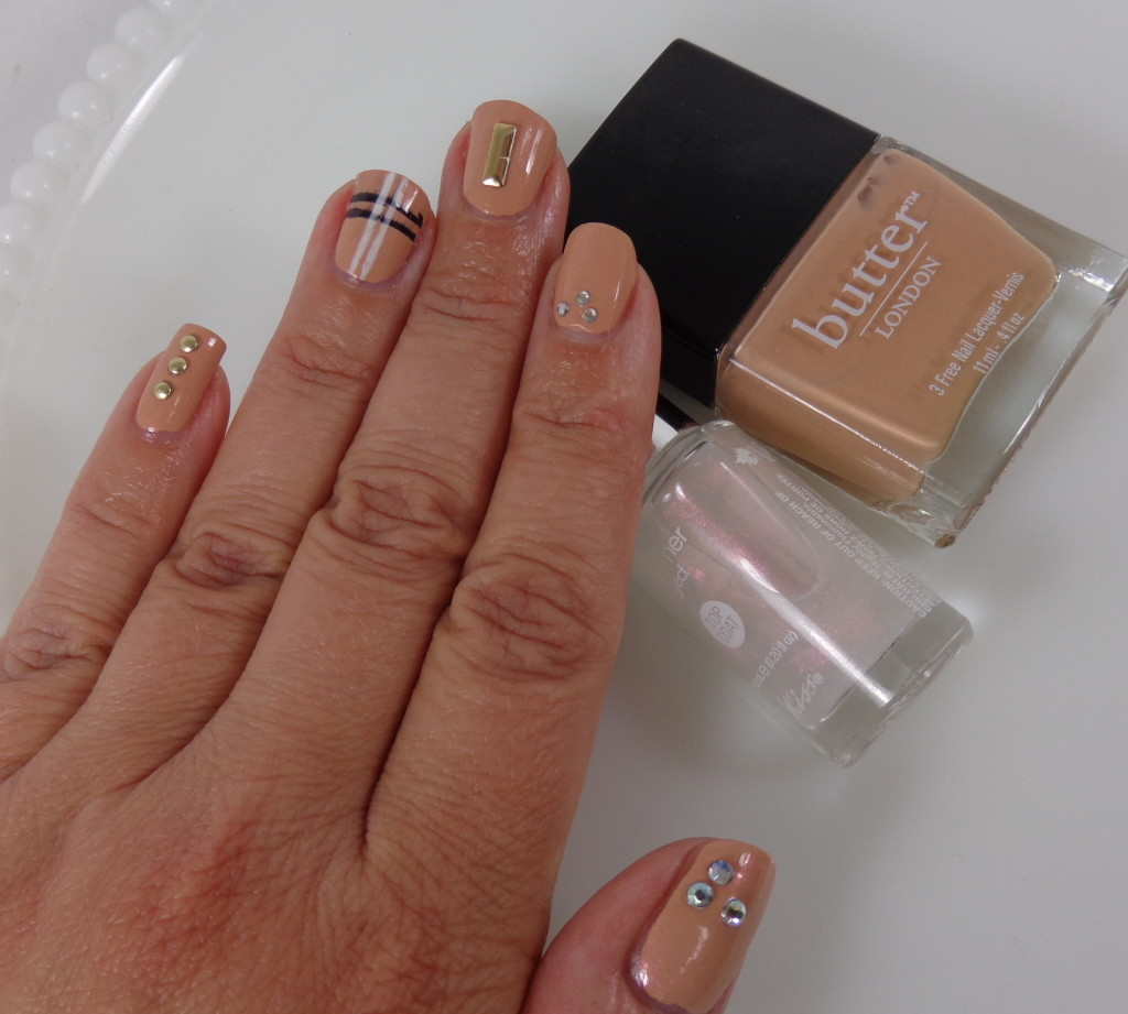 Nail Art with Kiss Products and butter LONDON - My Highest Self