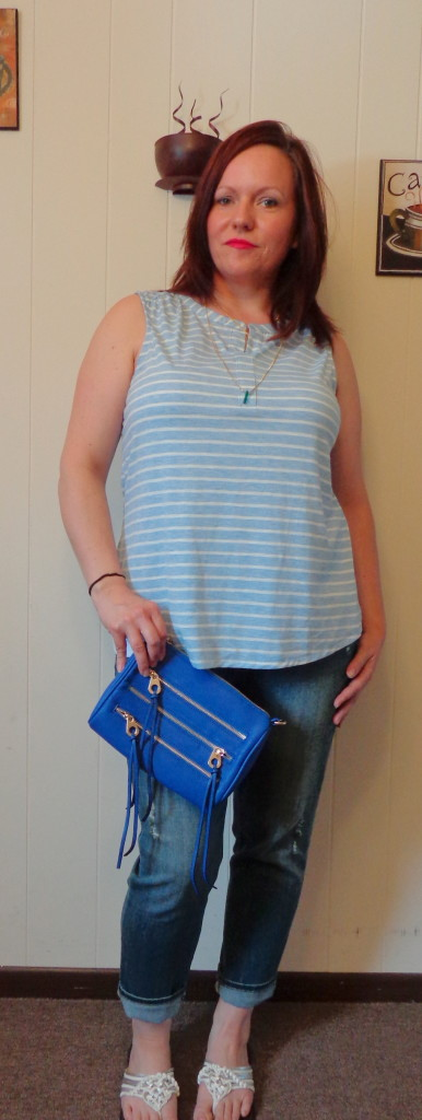 Outfit Post: Shades of Blue