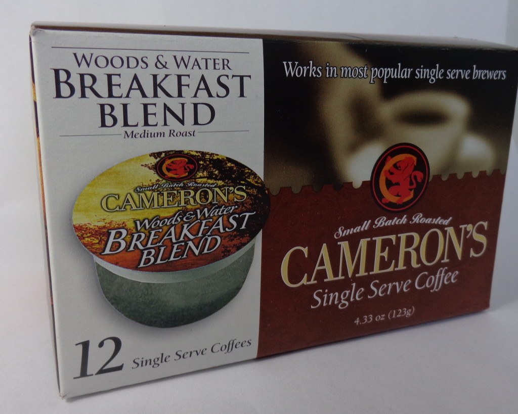 Coffee Finds:  Cameron's Woods & Water Breakfast Blend for Keurig