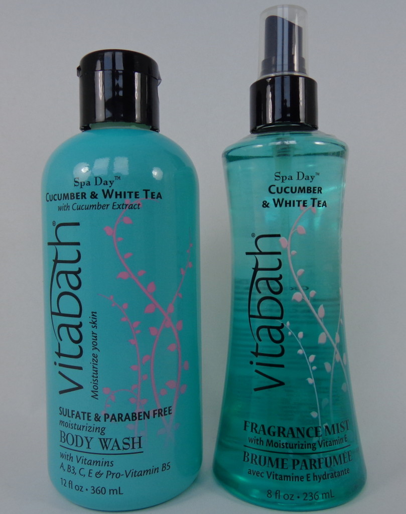 Review: Vitabath Spa Day Cucumber & White Tea Body Wash and ...