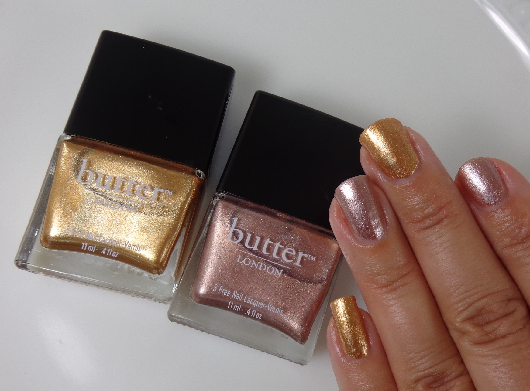 butter london marbs champers swatches
