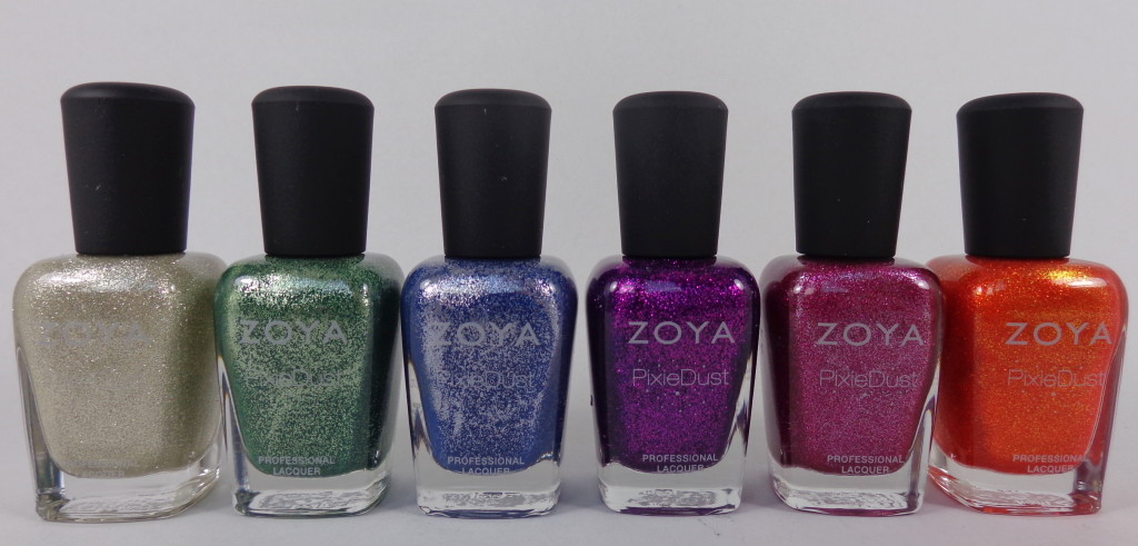Zoya PixieDust Fall 2013 review