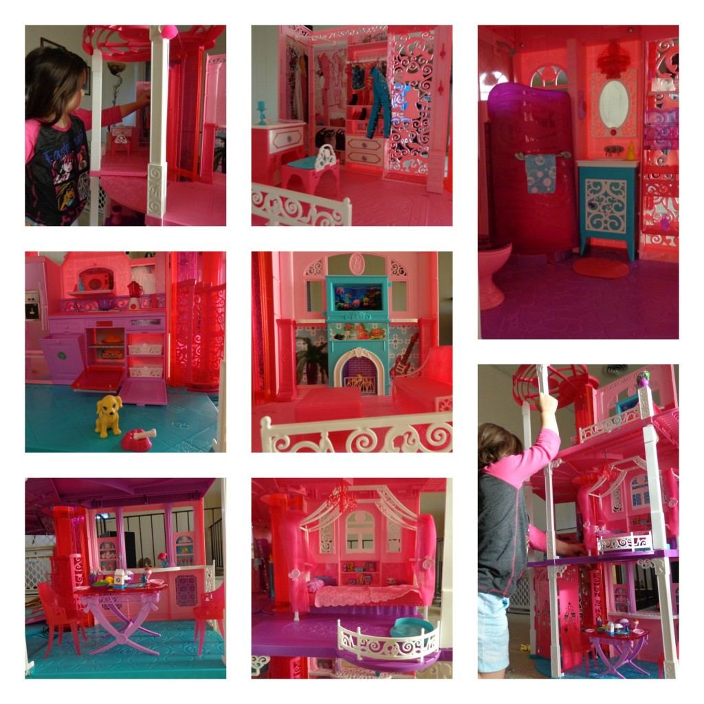 barbie dream house rooms