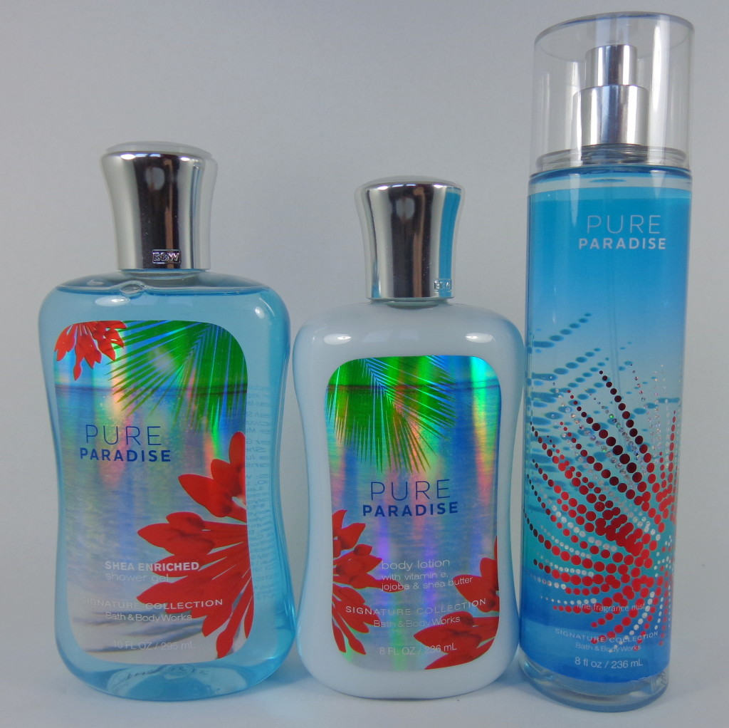 Pure Paradise Review Bath and Body Works