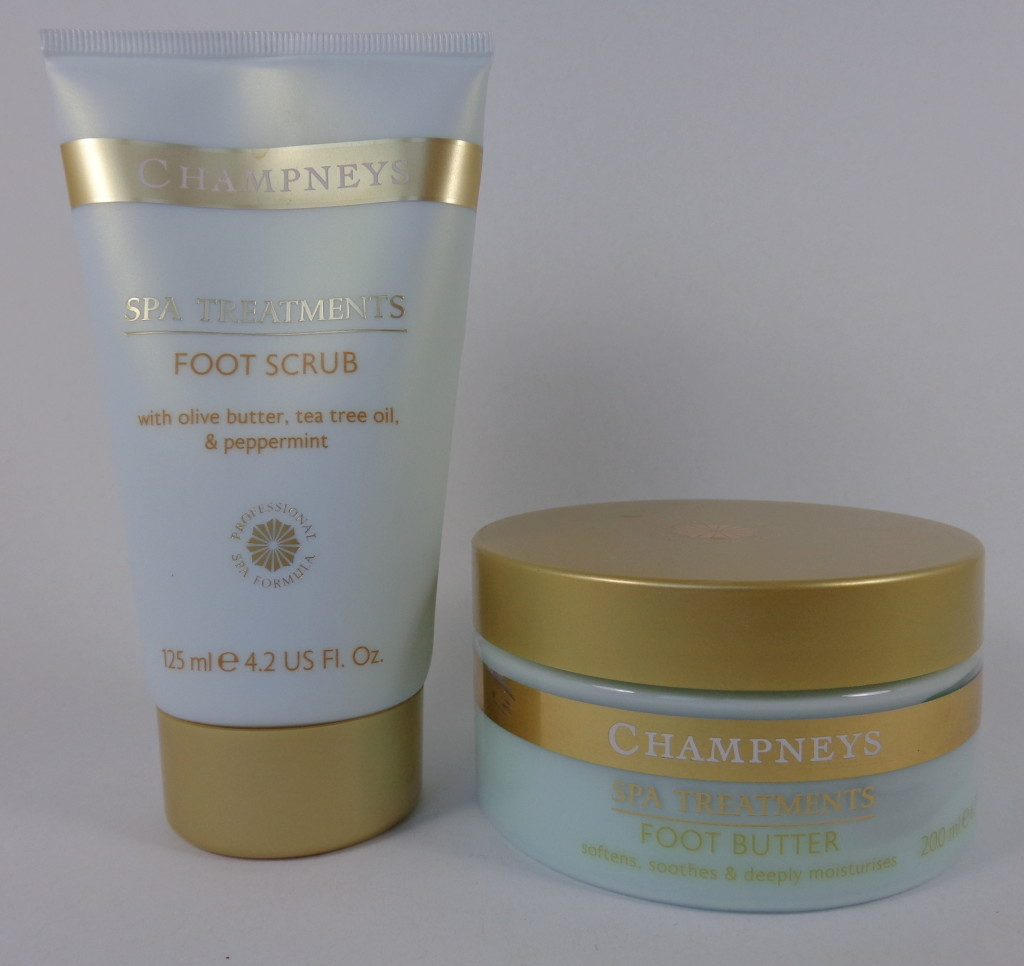 Review:  Champneys Foot Scrub and Foot Butter
