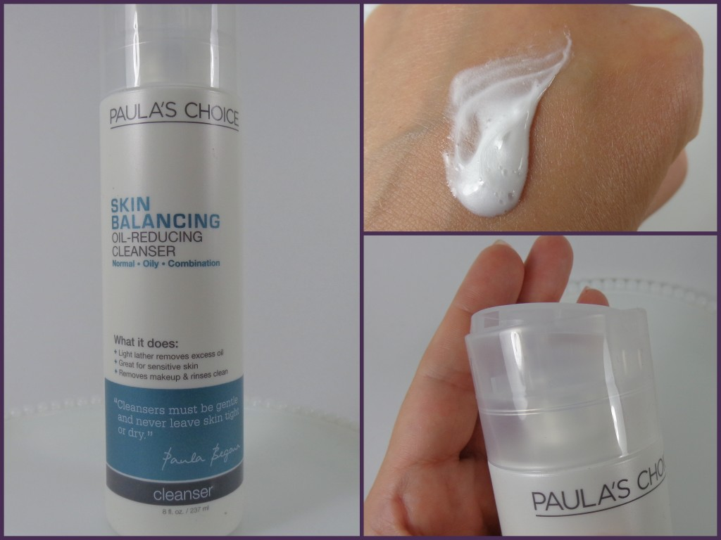 Review:  Paula's Choice Skin Balancing Oil-Reducing Cleanser and Ultra-Sheer Daily Defense SPF 30