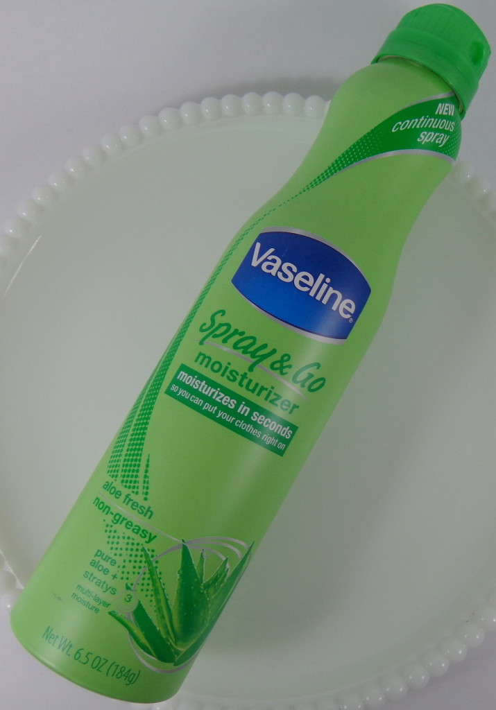 vaseline spray and go review