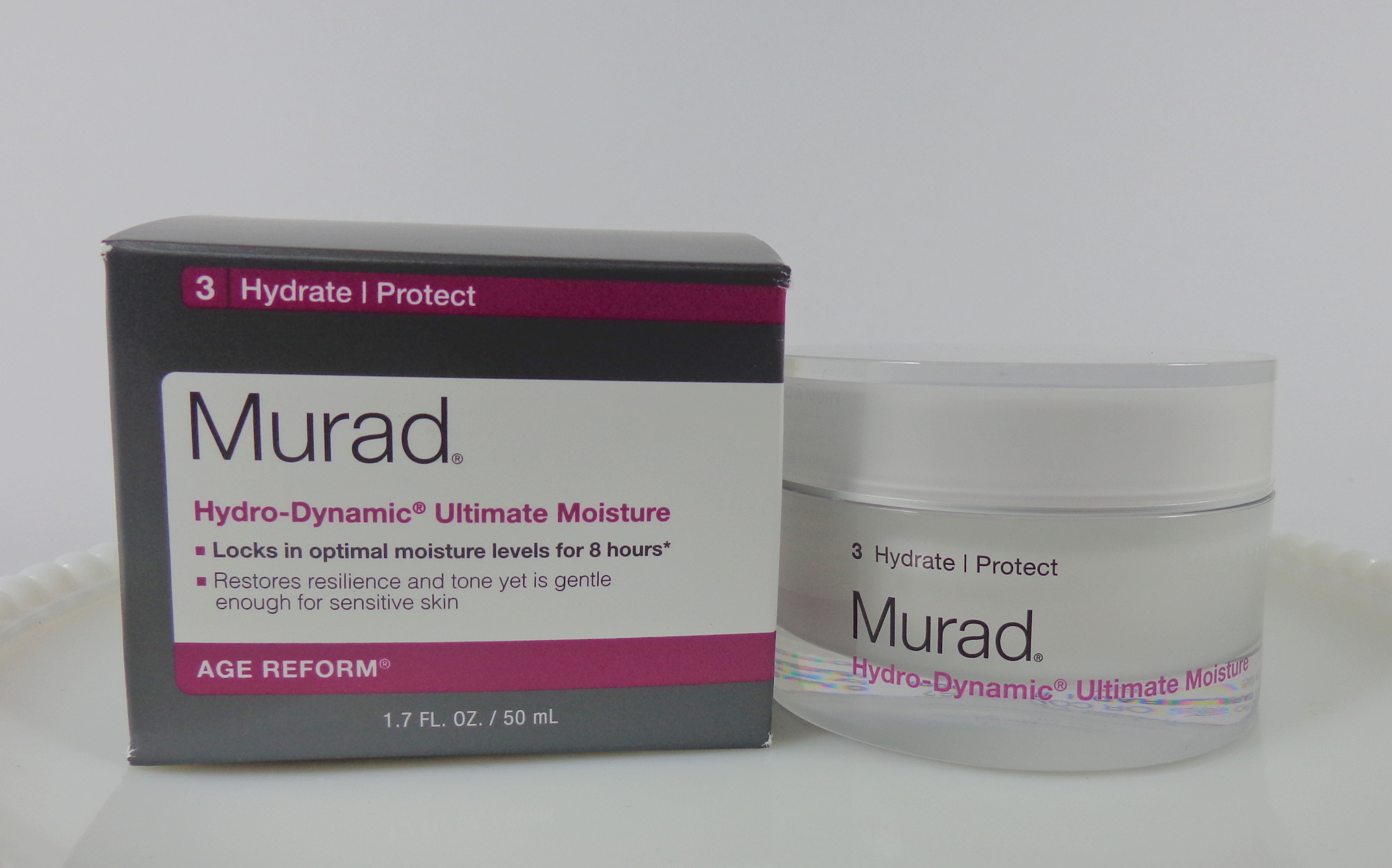 Murad Hydro-Dynamic Ultimate Moisture, 1.7 Oz Thank You Farmer, Back to Iceland, Cleansing Water , 9.15 fl oz(pack of 4)